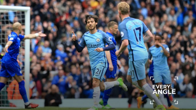 REBOOT: Relive David Silva's goal against Leicester last season