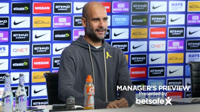 TOUGH TEST: Manchester City manager Pep Guardiola
