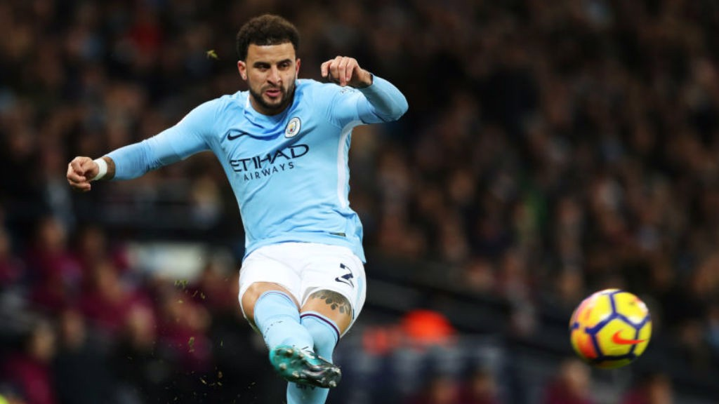 FLYING START: Manchester City's Kyle Walker says he is loving life at the Etihad