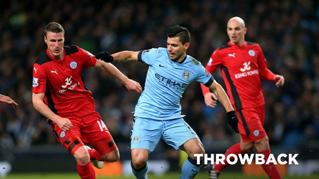 THROWBACK: City beat Leicester 2-0 in March 2015.
