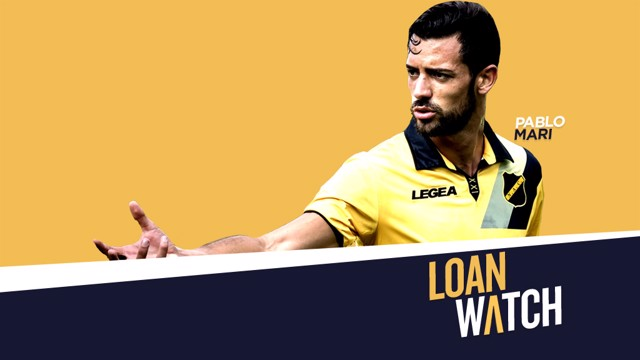 LOAN WATCH: Pablo Mari is currently on loan at NAC Breda