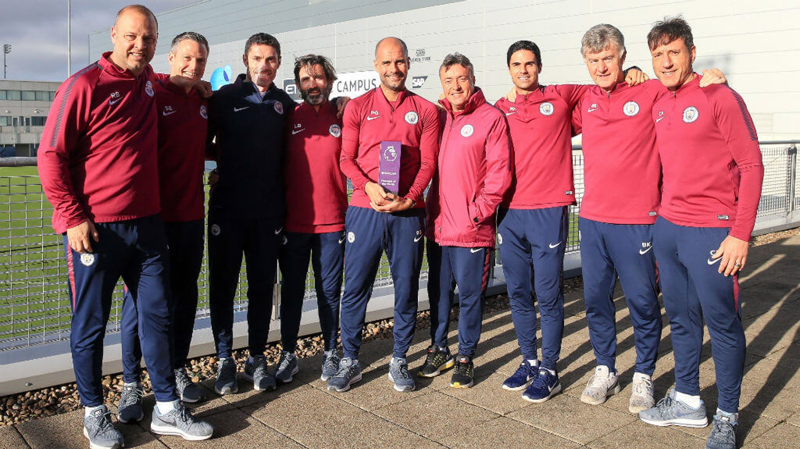 PL AWARDS: Pep has landed his second consecutive Manager of the Month award