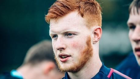 MATCH READY: Ryan Corrigan is eyeing victory against Stoke.