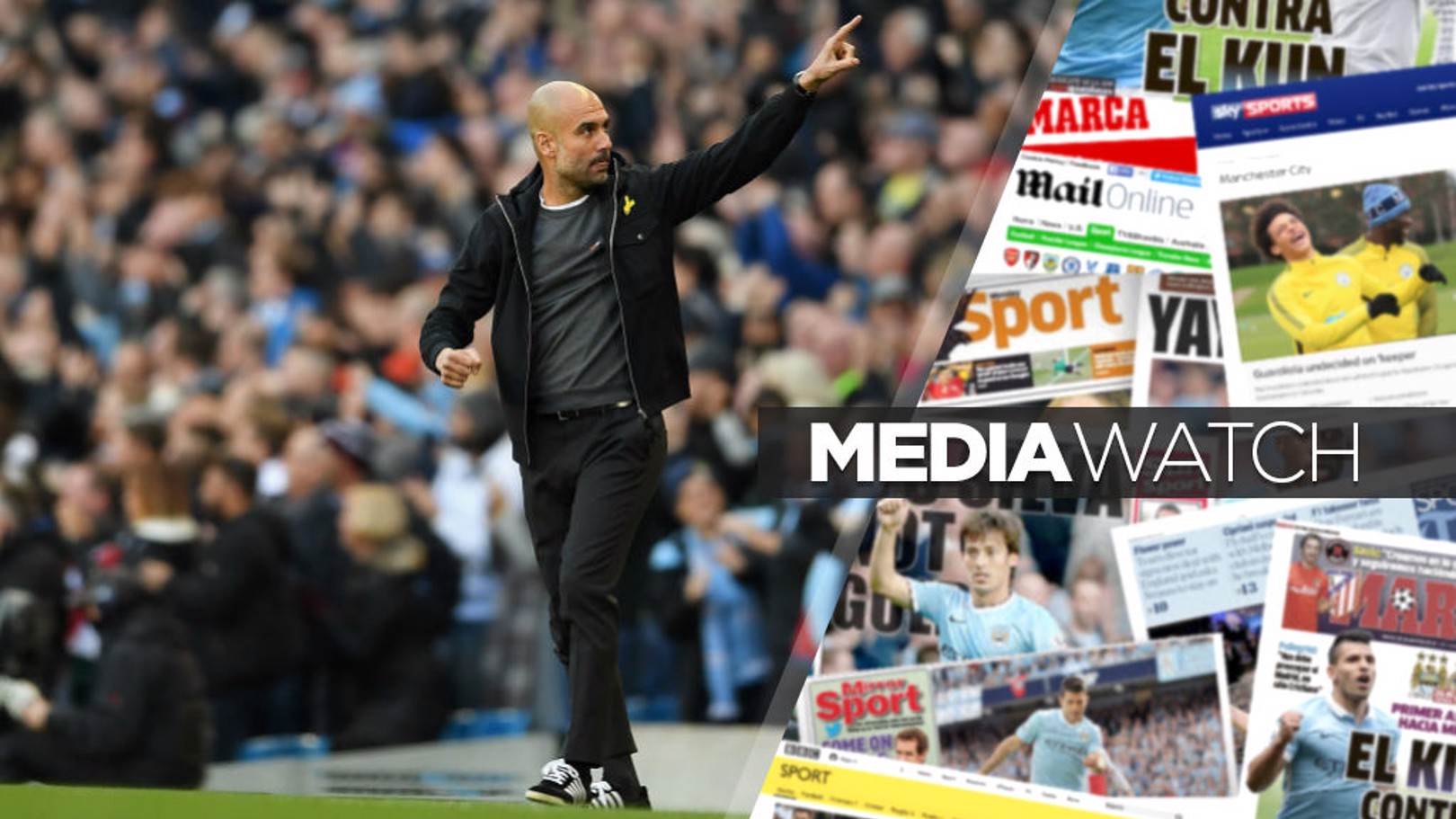 GAME CHANGER: Pep Guardiola is raising standards according to sections of the media.