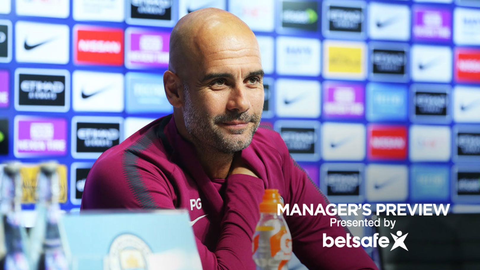 TEAM NEWS: Pep Guardiola provided a squad updated ahead of Leicester.