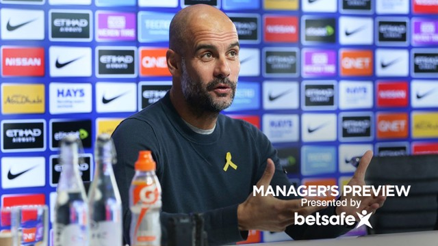 PRESS CONFERENCE: Pep Guardiola speaks ahead of City's clash with Southampton.