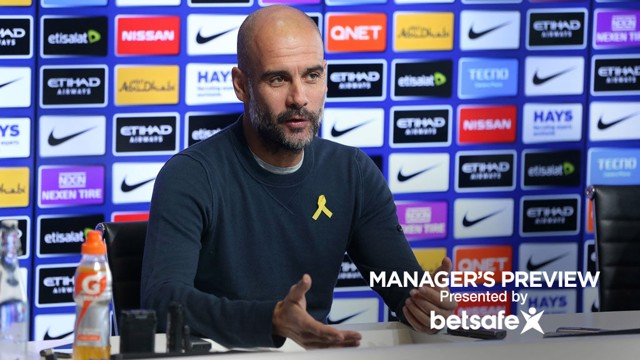 PEP PREVIEW: Guardiola shares his thoughts ahead of City's clash against Southampton.