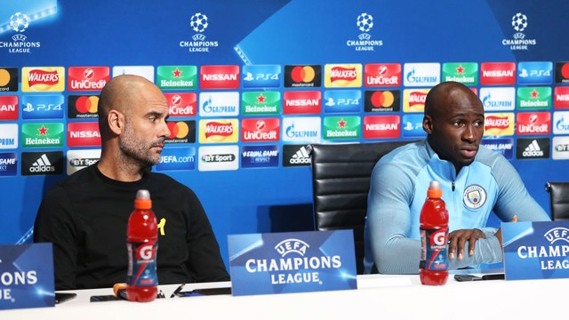 PRE-MATCH: Eliaquim speaks to journalists ahead of City v Feyenoord.