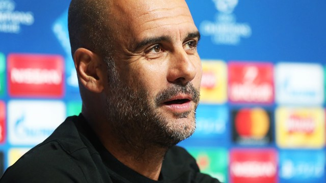 PREVIEW: Pep Guardiola addresses the media ahead of City v Feyenoord.