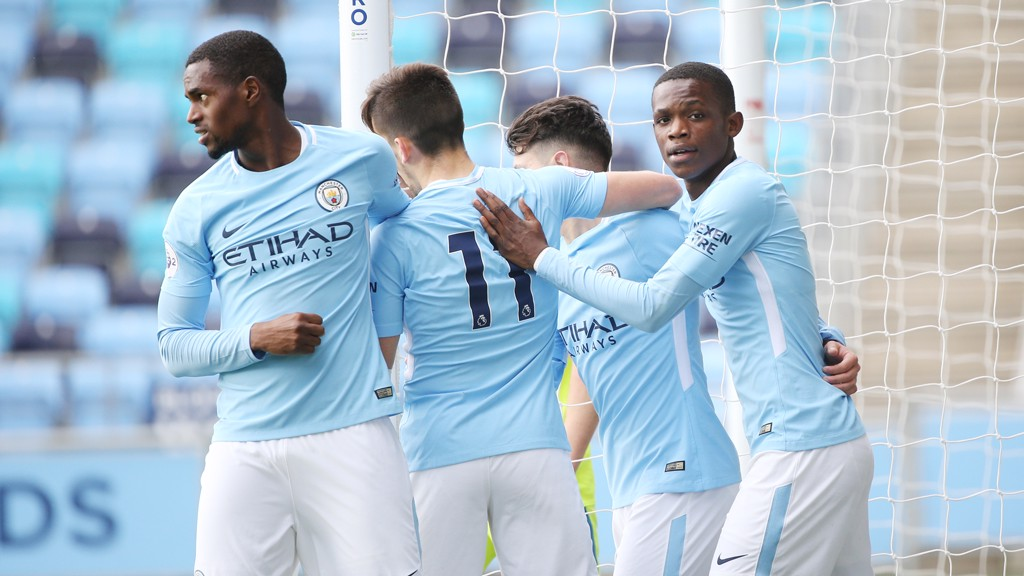 KEY TO SUCCESS: City EDS secured a 4-1 win over Derby in the Premier League 2.