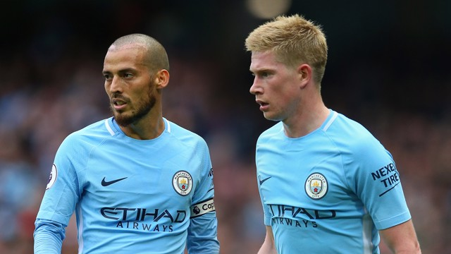 Image result for kevin de bruyne david silva man city