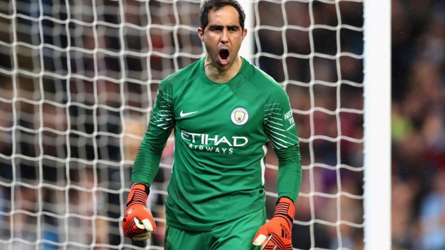 SAFE HANDS: Bravo saved the day