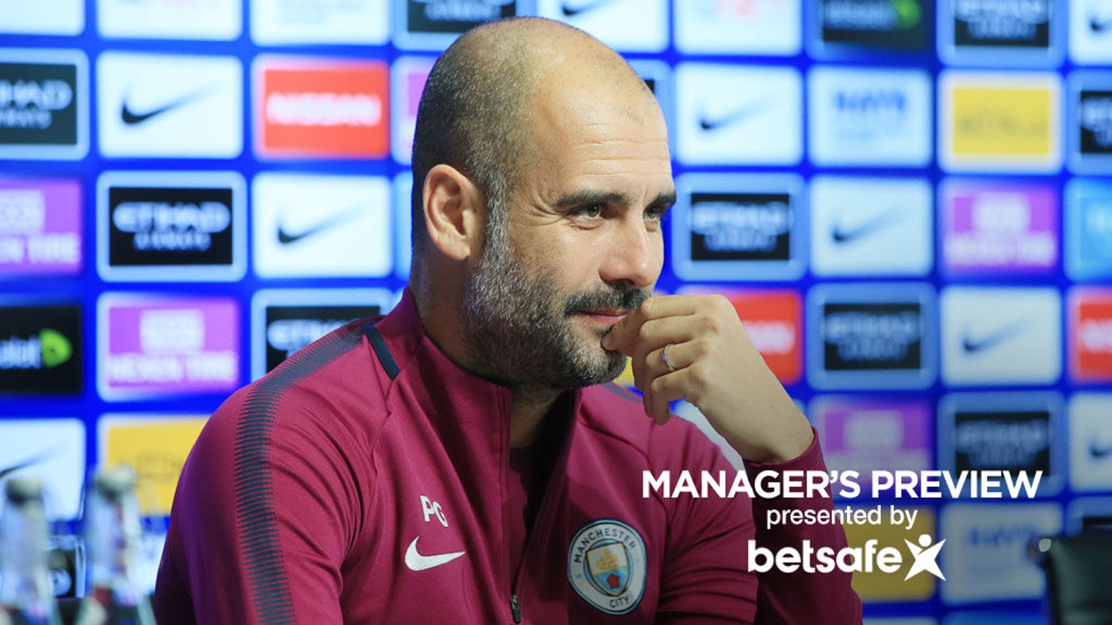 LATEST: Pep addressed the press on Friday ahead of this weekend's home game with Burnley