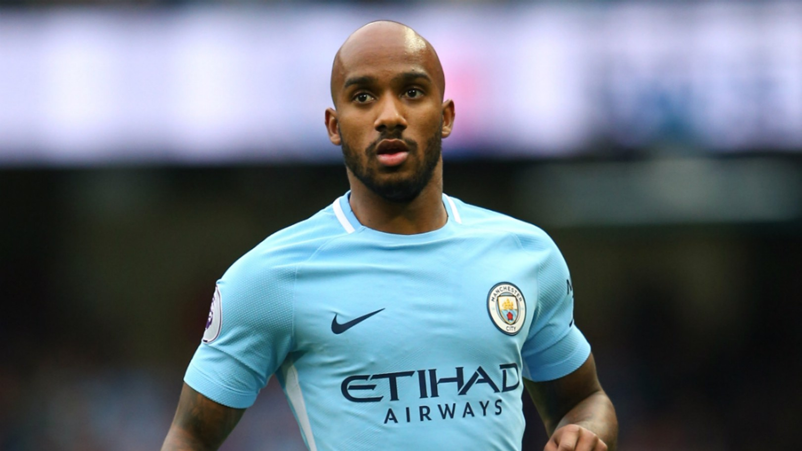 FABIAN DELPH: The midfielder has returned to Manchester and will be assessed by the Club's medical staff