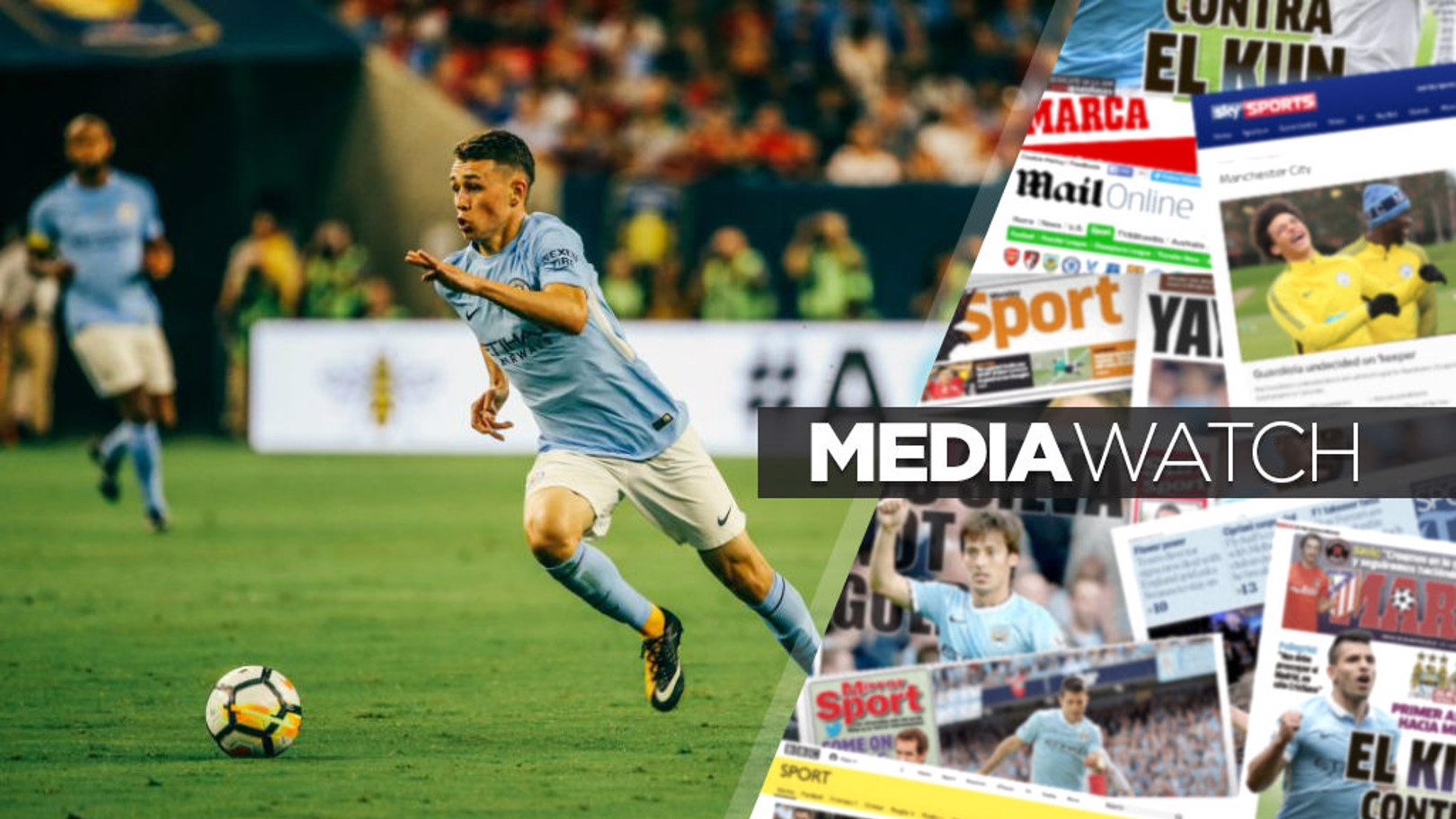 YOUNG GUN: The press have profiled Phil Foden's rise.