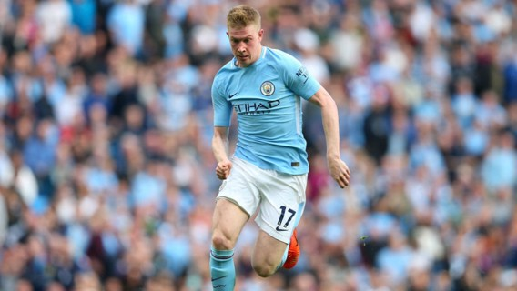 CLASS: Bernardo was full of praise for De Bruyne after his performance in the win over Stoke