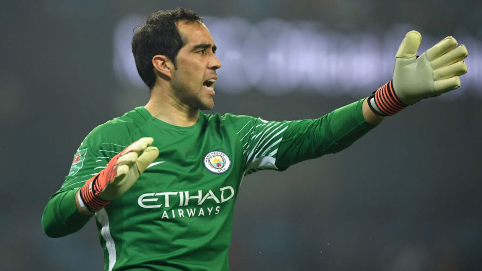 PENALTY KILLER: Bravo is a specialist from 12 yards, says Gundogan