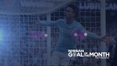 Le but du mois par Nissan: Septembre
