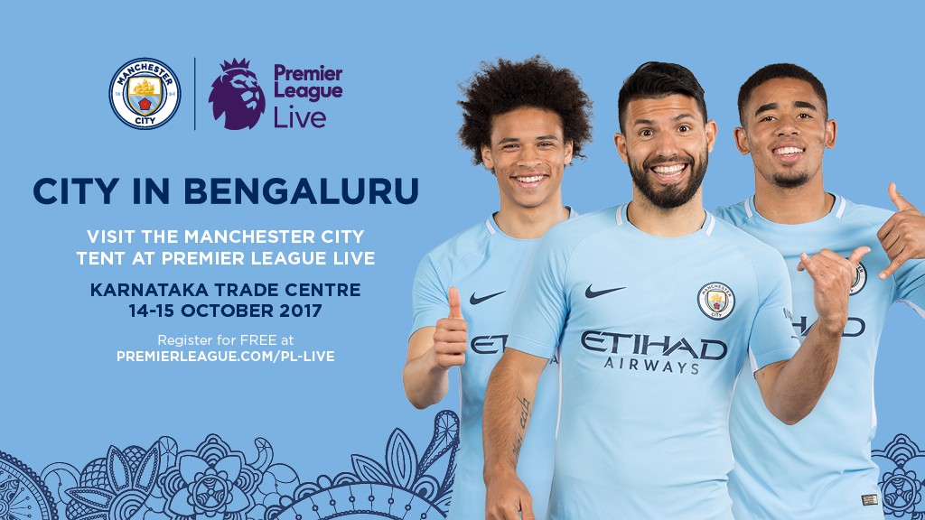 15c017127b2 City set for Premier League event in India - Manchester City FC