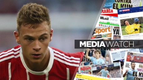 WANTED?: It's claimed City are keen on securing the services of Joshua Kimmich