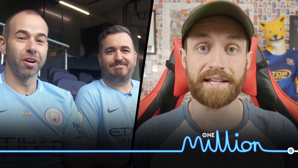 FAMOUS FACES: Watch YoutTubers congratulate City on becoming the first British team to reach one million YouTube subscribers
