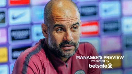 TEAM NEWS: Pep provided a squad update ahead of West Brom.