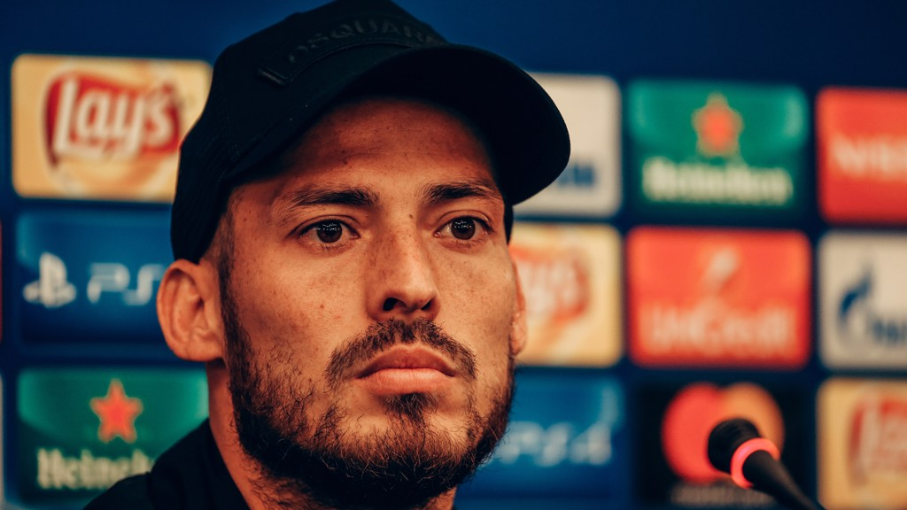 City's David Silva is desperate to add the Champions League to his trophy haul