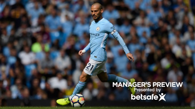 SPECIAL: Pep Guardiola has praised David Silva ahead of Saturday's clash with Stoke.