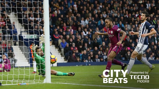 WIN NO. 13: Raheem Sterling keeps City's victory run going
