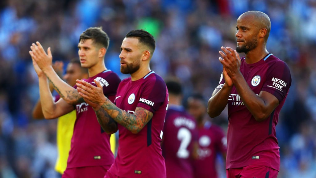 John Stones pleased with Manchester City form