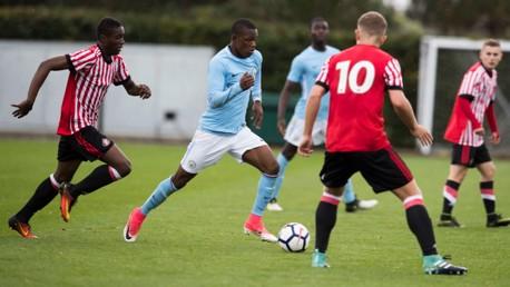 GOAL FEST: City U18s hit six times against Sunderland.