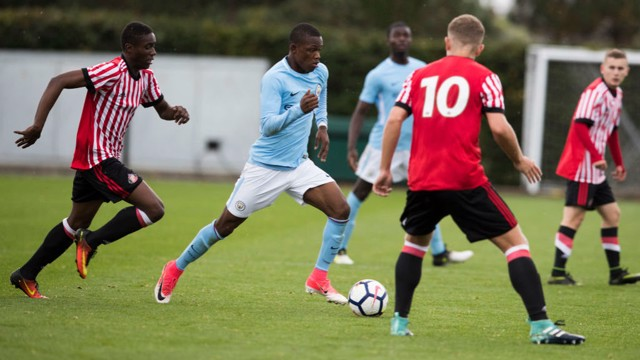 GOAL FEST: City U18s hit six times against Sunderland.