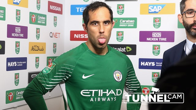TUNNEL CAM: Take a behind-the-scenes look at City's Carabao Cup win over Wolves