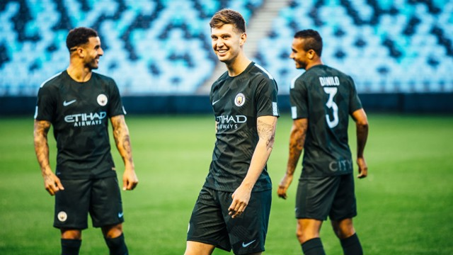 LAUNCH: Behind the scenes with Danilo, John Stones and Kyle Walker.