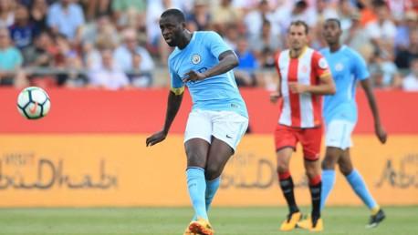 LEYENDA. Yaya Touré alcanza ante el West Brom los 300 partidos con el City.