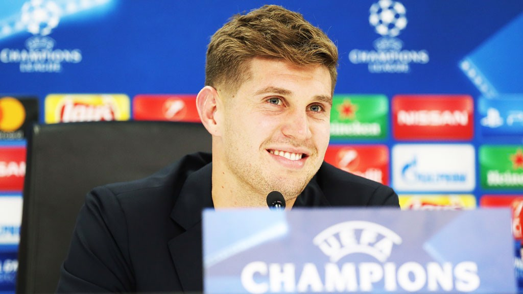 2738a4f73 STRONG STUFF  John Stones has praised Ederson s resilience ahead of City s  game with Feyenoord on
