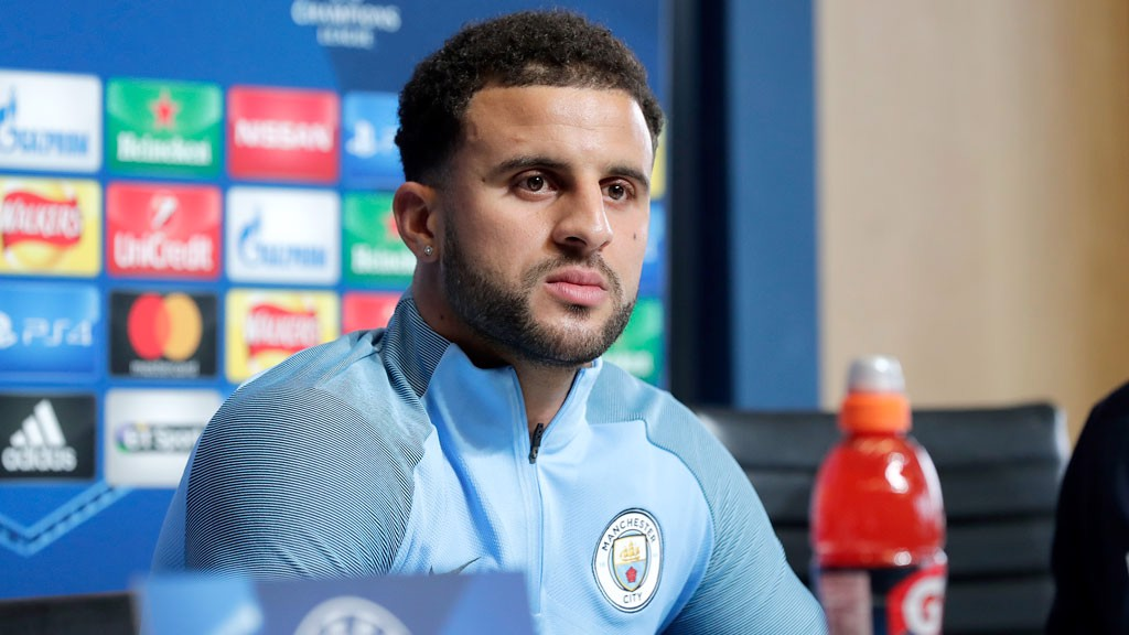 IN FORM: Kyle Walker says City are capable of maintaining their current level