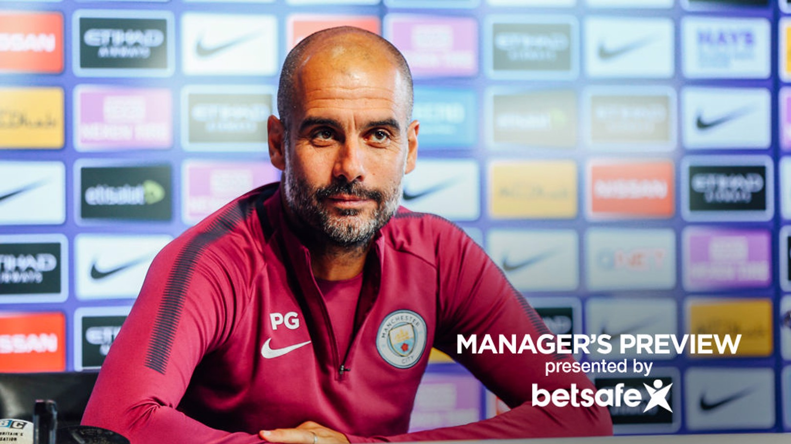LATEST: Guardiola has given us an update on the fitness of his squad.