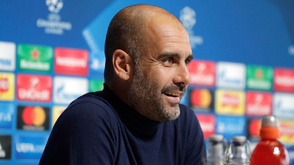 INJURY LATEST: Pep Guardiola has addressed the press ahead of Tuesday's Champions League game with Shakhtar Donetsk