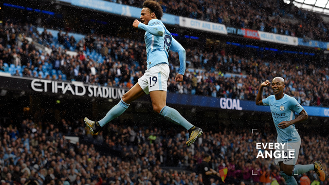 CHERRY ON THE CAKE: Leroy Sane's terrific strike wrapped up perfect afternoon for City.