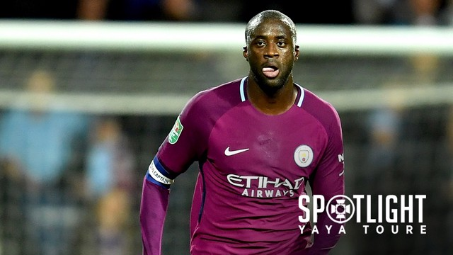 SPOTLIGHT: Yaya Toure on his 300th appearance.