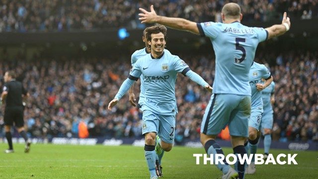 THROWBACK: Rewind to City's 2014 win over Crystal Palace at the Etihad Stadium.