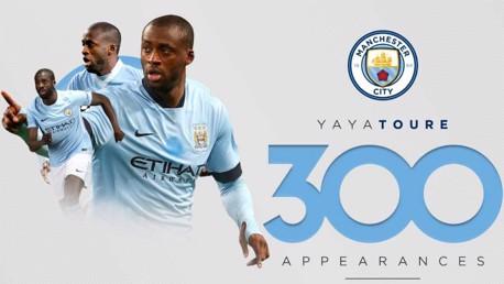 Yaya Touré: 300 partidos con el City
