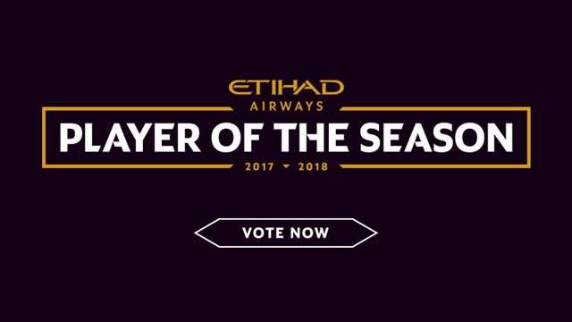 Etihad Airways Player of the Season