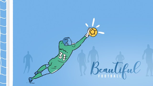 BEAUTIFUL FOOTBALL: The perfect goalkeeper...