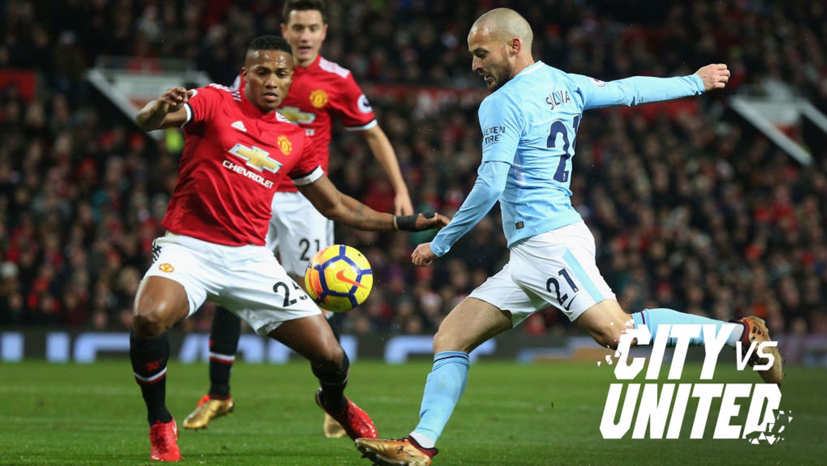 GLOBAL INTEREST: Saturday's clash will see the Etihad Stadium host a record 28 Premier League broadcast partners, with crews attending from across the globe...