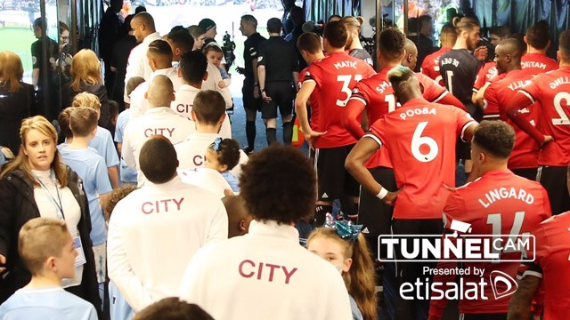 TUNNEL CAM: Go behind the scenes and see what went on in the tunnel on derby day