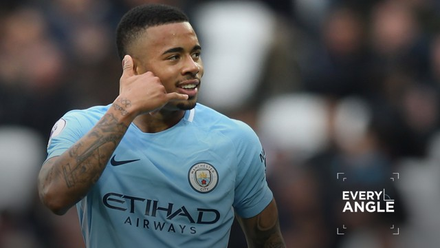 EVERY ANGLE: Watch Gabriel Jesus' fine goal from all available vantage points