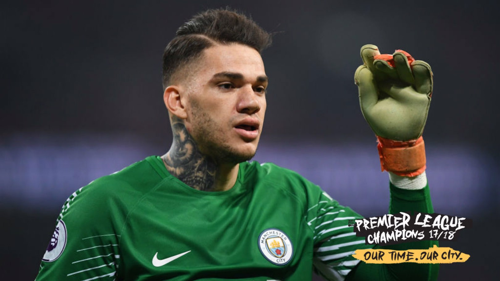 CHAMPIONS: Ederson has had a year to remember