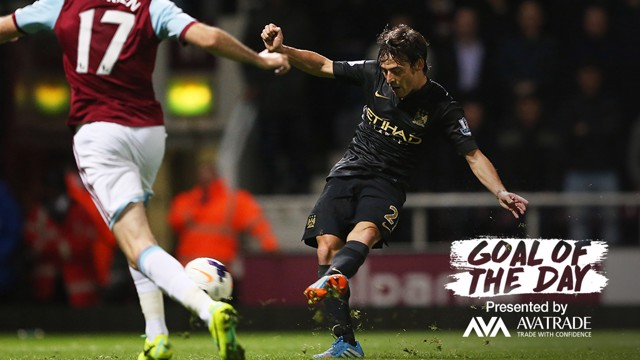 GOAL OF THE DAY: David Silva v West Ham